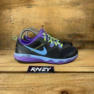 NIke Dual Fusion Trail Black Athletic Sneakers